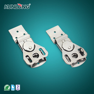 SK3-048 KUNLONG Supplier Padlock Type Butterfly Toggle Draw Latch