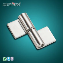 SK2-032 KUNLONG Stainless Steel Lift Off Detachable Door Hinges for Metal Door