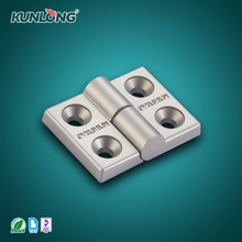 SK2-066 KUNLONG Durable and Detachable Silver Anodized Hinge