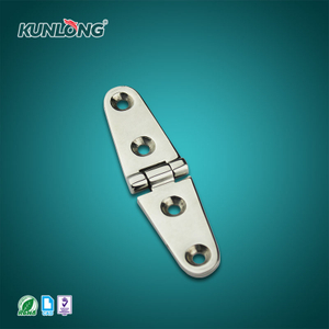 SK2-8071 KUNLONG Molding Steel Exposed Flat Hinge